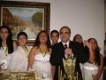 Vânia, Ramon, Paloma, Patrick, Caroline e Monique